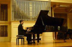 Mladý klavírní virtuóz Pavel Zemen si získal přátele komorní hudby