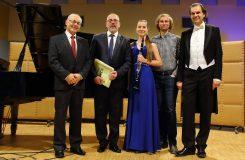 Klavírista Ivo Kahánek společně s dalšími osobnostmi v Ostravě