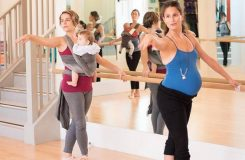 Inspirace zBritánie: baletní hodiny pro budoucí maminky