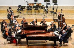 Schaghajegh Nosrati, András Schiff, Cappella Andrea Barca – Bratislava 31. ledna 2018 (zdroj Gesamtkunstwerk / foto Robert Tappert)