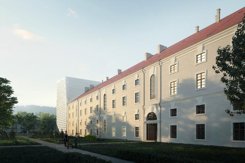 Invalidovna – nový projekt (foto architekt Petr Hájek)