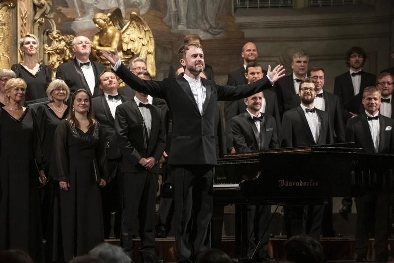 Pražské jaro 2019: Pražský filharmonický sbor, Lukáš Vasilek (foto Petra Hajská)