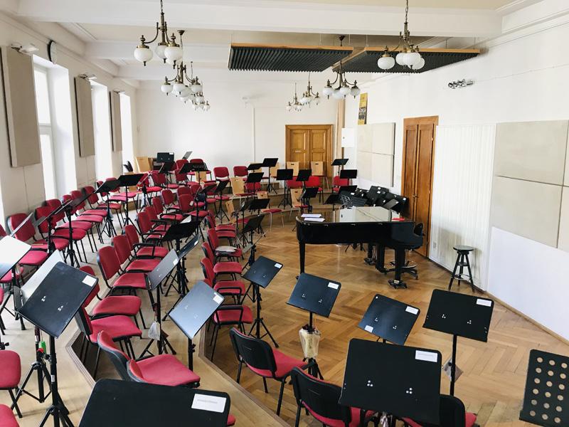 Pražský filharmonický sbor: zkušebna na Senovážném náměstí (foto Radim Dolanský)